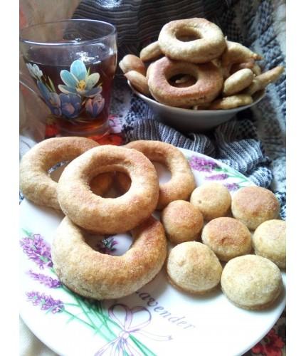 Цільнозернові пончики на кефірі