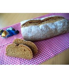 Ржано-пшеничный заварной хлеб с тмином