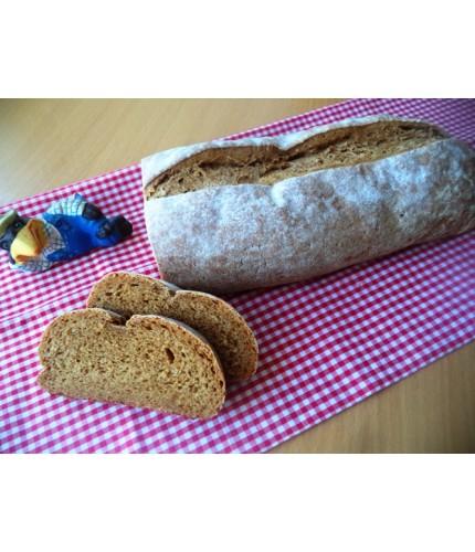Житньо-пшеничний заварний хліб з кмином