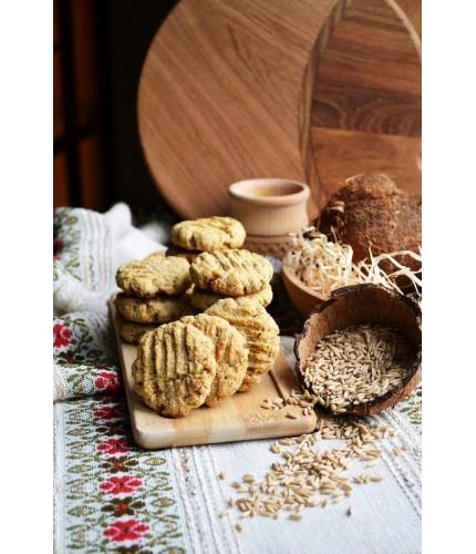 Печиво вівсяно-кокосове
