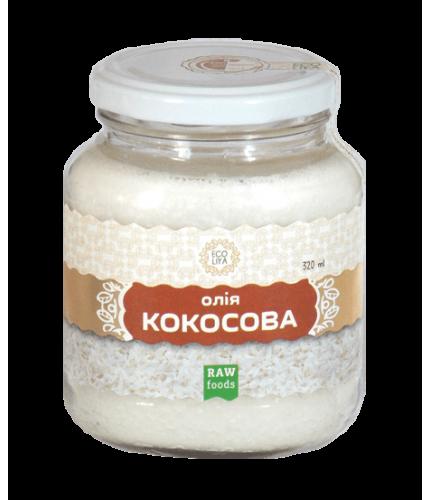 """Олія кокосового горіха  """"ECOLIYA"""", 320мл"""