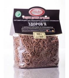 Макарони «ЗДОРОВ'Я» №6 з житнього борошна з топінамбуром (0,5 кг)