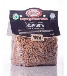 """Макароны """"ЗДОРОВЬЕ"""" №9 с семенами льна (0,5 кг)"""
