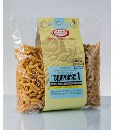 Макарони «ЗДОРОВ'Я» №1 з суцільнозмеленого зерна твердої пшениці (0,4 кг)