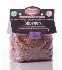 Макарони «ЗДОРОВ'Я» №12 зі шротом кісточок винограду (0,5 кг)