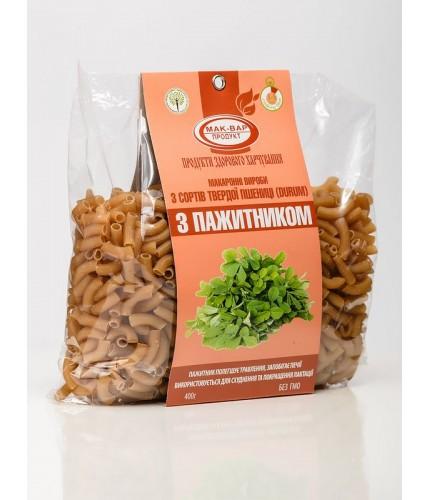 Макарони з пажитніком з твердих сортів пшениці (0,4 кг)