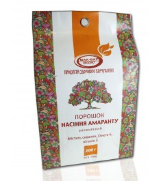 Шрот насіння амаранту, пакет 200 г