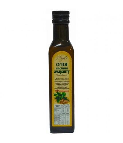 """Олія насіння амаранту """"Аннушка"""", скло 250 мл"""