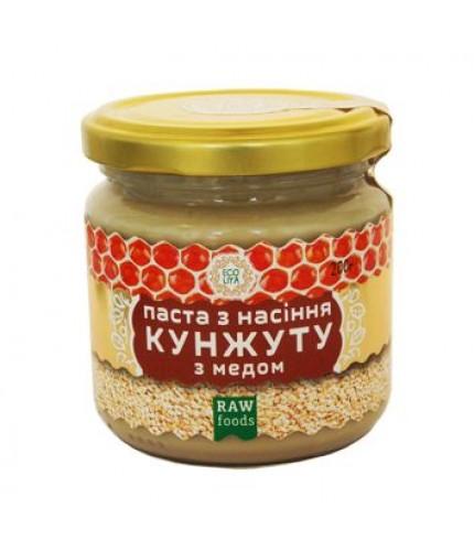 Паста з насіння кунжуту з медом (урбеч) 200г