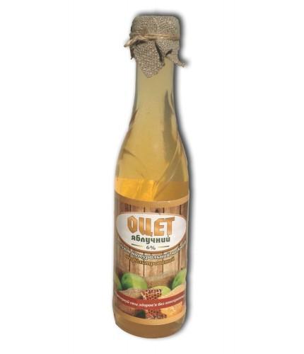Оцет яблучний з медом 3%, 0,33 л
