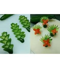Карвінг - мистецтво нарізки овочів